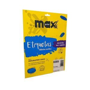 ETIQUETA 6089 C/ 10 FL – MAXPRINT