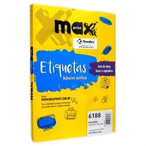 ETIQUETA 6188 C/ 100 FLS – MAXPRINT