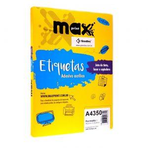 ETIQUETA A4350 C/ 100 FLS – MAXPRINT