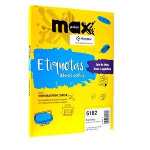 ETIQUETA 6182 C/ 100 FLS – MAXPRINT