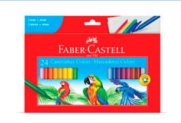 CANETINHA 24 CORES – FABER CASTELL