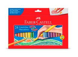 CANETINHA 24 CORES VAI E VEM – FABER CASTELL