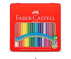 LÁPIS DE COR 24 CORES GRIP – FABER CASTELL