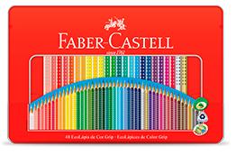 LÁPIS DE COR 48 CORES GRIP – FABER CASTELL