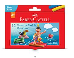 MASSA DE MODELAR C/12 UN – FABER CASTELL