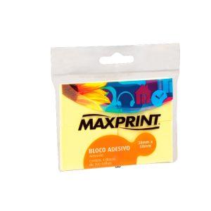 POST-IT 38X50 AMARELO C/4 BLOCOS – MAXPRINT