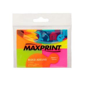 POST-IT 38X50 NEON C/4 BLOCOS – MAXPRINT
