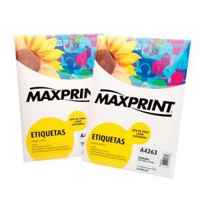 ETIQUETA 8099F C/ 10 FLS – MAXPRINT