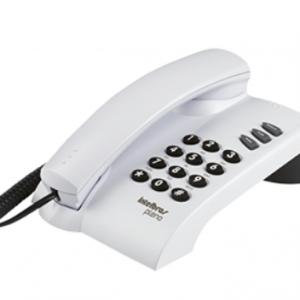 TELEFONE PLENO PRETO – INTELBRAS
