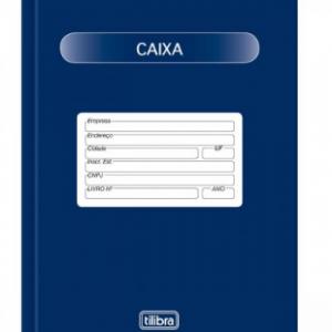 LIVRO CAIXA PEQUENO 100 FLS – TILIBRA
