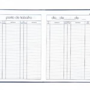 LIVRO PONTO GRANDE 4 ASSINATURAS 160 FLS – TILIBRA