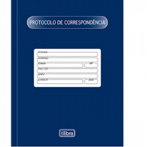 LIVRO PROTOCOLO DE CORRESPONDÊNCIA 104 FLS – TILIBRA