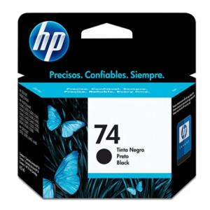 CARTUCHO HP 74 CB335WL 6ML PRETO