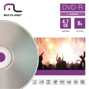 DVD+R DV018 ENVELOPE – MULTILASER