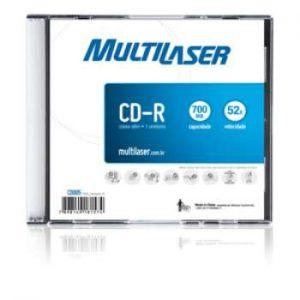 CD-R EMBALAGEM ACRÍLICA CD005 – MULTILASER