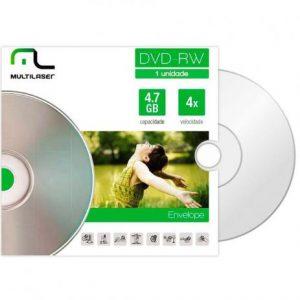 DVD-RW DV064 ENVELOPE – MULTILASER