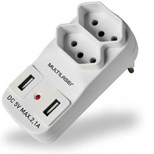 ADAPTADOR TOMADA T WI331 USB – MULTILASER