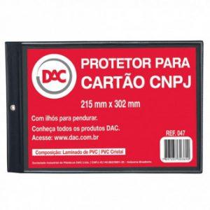 PROTETOR P/ CARTÃO CNPJ – DAC