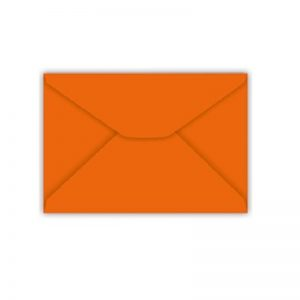 ENVELOPE CONVITE 114X162MM LARANJA – FORONI