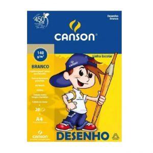 BLOCO DESENHO A4 20FLS 140GR – CANSON