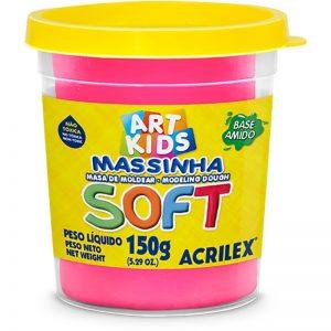 MASSA DE MODELAR 150GR ROSA – ACRILEX