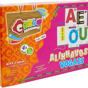 ALINHAVO VOGAIS COD.3020 – CARLU