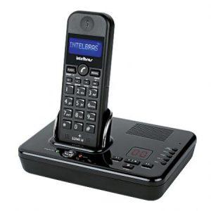 TELEFONE SEM FIO LUMI + PRETO – INTELBRAS