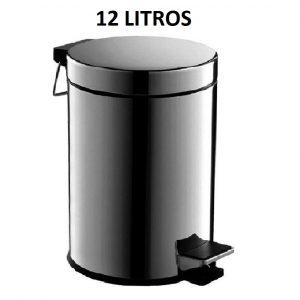 LIXEIRA INOX C/PEDAL 12L – TOMIX