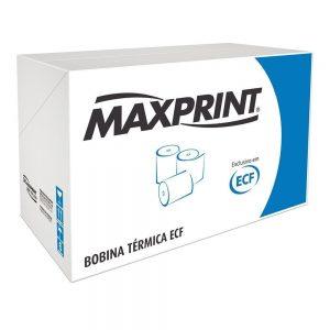 BOBINA CUPOM FISCAL TÉRMICA AMARELA 80X40 – MAXPRINT