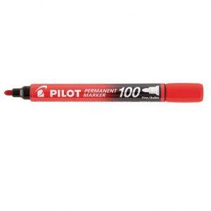 MARCADOR PERMANENTE SCA-100 RED. VERMELHO – PILOT
