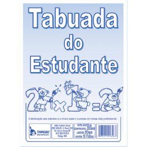 CADERNO DE TABUADA C/10 FLS – TAMOIO