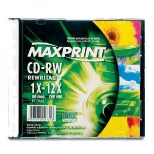 CD-RW UND – MAXPRINT