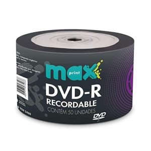 DVD-R TUBO COM  50 UND – MAXPRINT