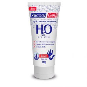 ÁLCOOL EM GEL 70% 90GR – H2O