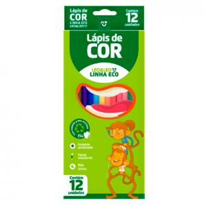 LÁPIS DE COR 12 CORES – LEO& LEO