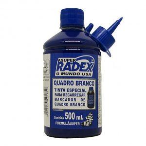 TINTA P/ QUADRO BRANCO 500 ML AZUL – RADEX