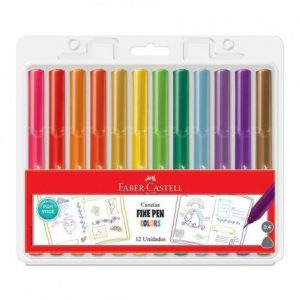 CANETA FINEPEN FPB/PROZF C/12 – FABER CASTELL