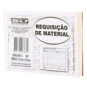 REQUISIÇÃO DE MATERIAL 2 VIAS – SÃO DOMINGOS