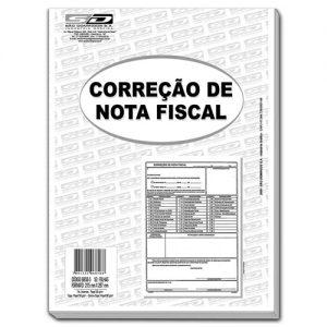 CORREÇÃO DE NOTA FISCAL 50 FLS – SÃO DOMINGOS