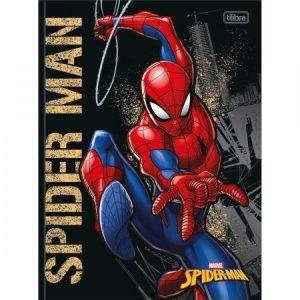 CADERNO 80FLS UNIV. CAPA DURA 1 MATÉRIA SPIDER-MAN – TILIBRA