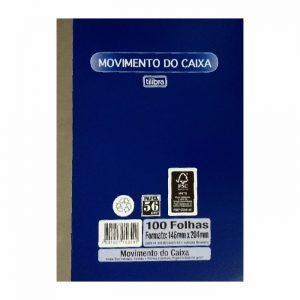 TALÃO MOVIMENTO DE CAIXA PEQUENO – TILIBRA