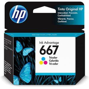 CARTUCHO 667 3YM78AL 2M COLORIDO – HP