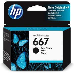 CARTUCHO 667 3YM79AL 2ML PRETO – HP