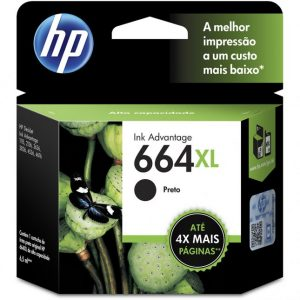 CARTUCHO 667XL 3YM81AL 8,5ML PRETO – HP