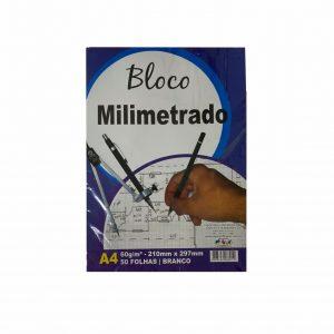 BLOCO PAPEL MILIMETRADO A4 50FLS – OFF PAPER