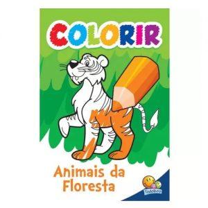 COLORIR: ANIMAIS DA FLORESTA – TODO LIVRO