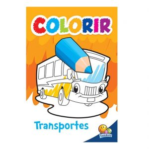 COLORIR: TRANSPORTES – TODO LIVRO